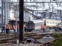 Un tren a deraiat langa Paris. Numeroase victime, cel putin 7 morti