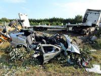 4 romani au murit intr-un accident rutier produs in Franta