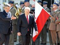Presedintele polonez, agresat in timpul unei ceremonii din Ucraina