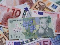 Leul a inceput saptamana pe depreciere. Cursul BNR a urcat usor, la 4,4232 lei/euro