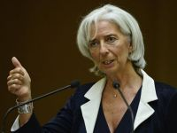 Lagarde sfatuieste Romania sa nu se grabeasca sa intre in uniunea monetara