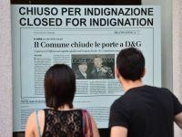 Creatorii Dolce&Gabbana si-au inchis pentru 3 zile magazinele din Milano
