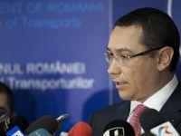 "Antonescu: ""Basescu il lasa pe Ponta interimar la Transporturi, sa finalizeze privatizarea CFR Marfa"""