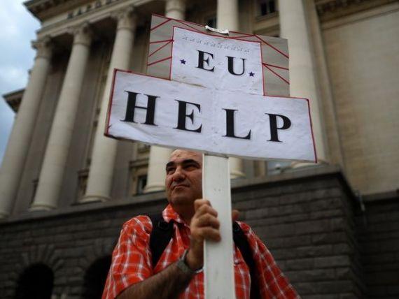 Vecinii bulgari au mai multa incredere in institutiile UE, decat in cele nationale. Situatia din tara este  intolerabila  pentru trei sferturi dintre cetateni