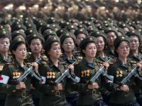 Festivitati trase la indigo dupa regimul Ceusescu, la Phenian. Coreea de Nord a sarbatorit 60 de ani de la razboiul care a rupt peninsula in doua