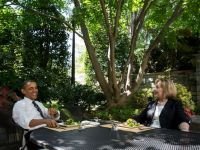 Barack Obama a luat pranzul impreuna cu Hillary Clinton
