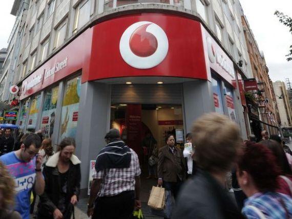 Vodafone Romania a obtinut venituri din servicii de 177,1 mil. euro in trimestrul III al anului fiscal 2013-2014