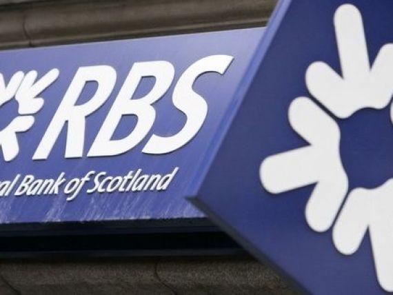 FT:  Restructurare-monstru  la Royal Bank of Scotland. Cel putin 30.000 de concedieri