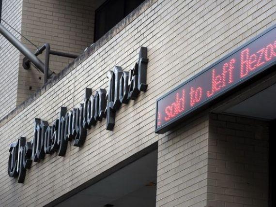 Washington Post, ziarul care l-a dat jos pe Nixon in urma scandalului Watergate, va fi cumparat de fondatorul Amazon