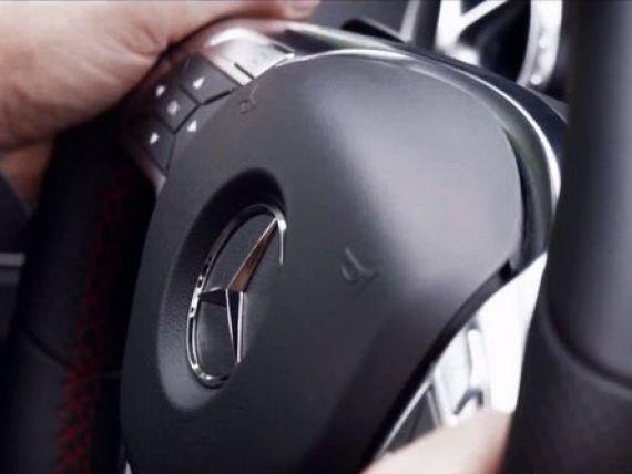 Primul clip oficial cu noul Mercedes, modelul anului pentru nemti. 99% cu motorizare Dacia de 1.5 litri