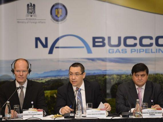 Transgaz si OMV imprumuta Nabucco, pentru a evita intrarea companiei in insolventa