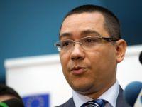 Ponta anunta ca va trimite, luni, noua propunere pentru Transporturi