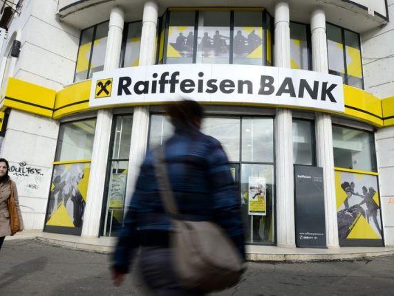 Profitul Raiffeisen Bank a urcat cu 20% in primul semestru, la 60 mil. de euro