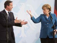 """Cancelarul german, intr-o discutie cu premierul britanic: """"Regimul sirian nu poate continua fara pedeapsa. O reactie internationala e inevitabila"""""""