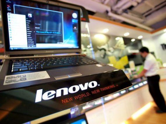 In epoca tabletelor, Lenovo vrea sa devanseze Hewlett-Packard pe piata europeana a PC-urilor, pana in 2015