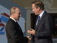 "David Cameron da replica Moscovei pe Twitter. Premierul isi lauda Regatul, dupa ce un oficial rus a spus ca Marea Britanie ""nu-i decat o mica insula"""