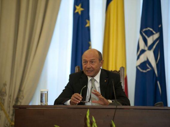 Basescu:  Romania s-a raliat declaratiei celor 11 state din G20 privind Siria