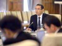 """Ponta: """"Exista interese straine care urmaresc blocarea unor proiecte economice in Romania"""""""