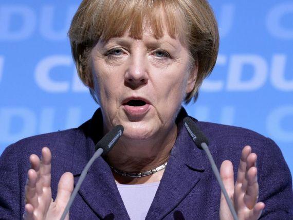 Grexit 2015: Angela Merkel face primele declaratii dupa ce presa a speculat ca Berlinul ar fi pregatit  sa lase  Grecia sa iasa din zona euro. Ce spune despre viitorul Europei