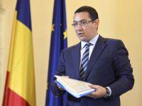 Ponta: Exista interese economice din afara ca Romania sa nu isi redeschida mineritul si sa nu fie independenta din punctul de vedere al gazelor