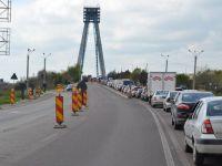 Restrictii de circulatie pe podul de la Agigea, din 23 ianuarie
