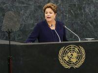 Presedinta Braziliei critica, la ONU, programul american de interceptare a comunicatiilor