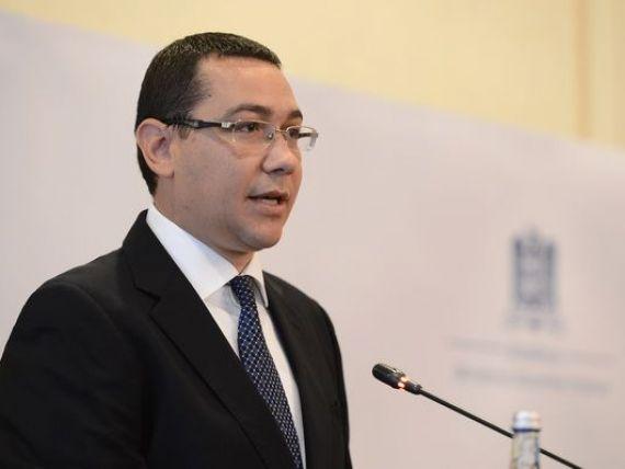 Guvernul transmite precizari in legatura cu declaratiile premierului Ponta privind Rosia Montana
