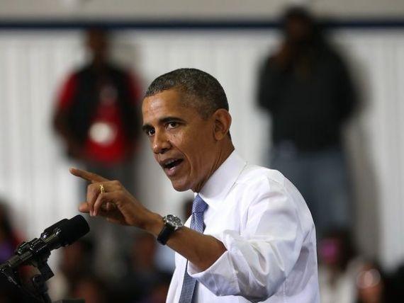 Barack Obama se declara  exasperat  de criza bugetara provocata de Congresul american.  Wall Street-ul ar trebui sa fie ingrijorat