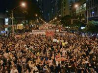 Incidente la Rio de Janeiro. 10.000 de manifestanti au sustinut o greva a profesorilor