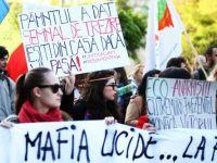 A 7-a duminica de manifestatii. 2.000 de oameni protesteaza, in Capitala, impotriva Rosia Montana
