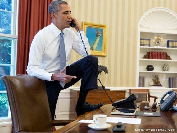 Telefonul Angelei Merkel, interceptat de serviciile secrete din SUA. Casa Alba refuza sa comenteze
