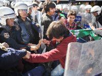 Politia turca a intervenit cu gaze lacrimogene pentru dispersarea unei manifestatii, la Ankara