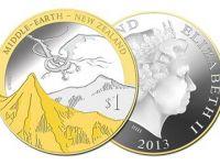 Personajele din  The Hobbit: Dezolarea lui Smaug , pe monedele din Noua Zeelanda