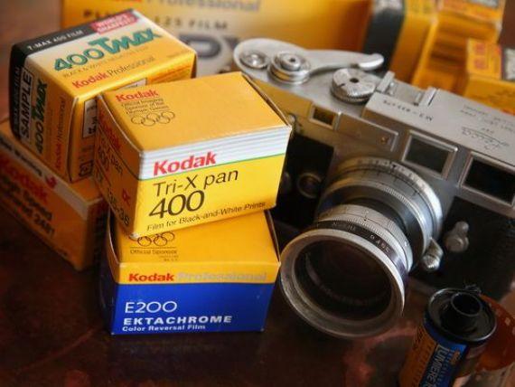 Kodak, pionierul industriei foto, reintra in joc, la un an dupa falimentul rasunator care a surprins lumea