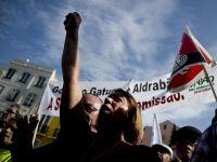 Mii de portughezi au protestat, la Lisabona, fata de reducerile bugetare