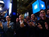 Twitter, noua senzatie de pe Wall Street. Actiunile retelei au incheiat prima sedinta de tranzactionare in crestere cu 73%