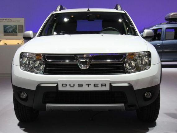 Duster, pe locul 4 in topul celor mai bine vandute 25 de modele din Rusia