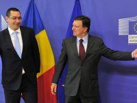 """Barroso: """"Romanii trebuie sa inteleaga cat de sensibil este subiectul Schengen in unele tari UE"""""""