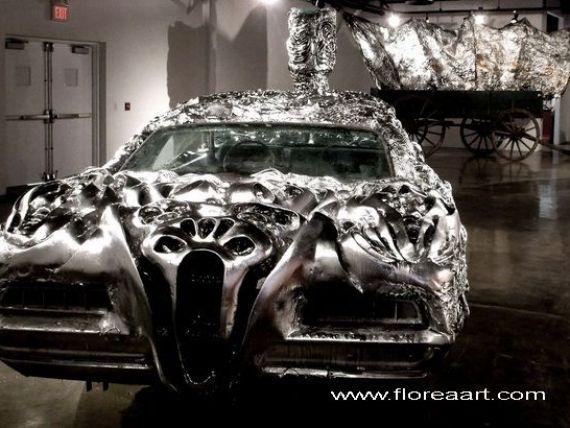 Un artist roman, apreciat in SUA pentru opere sale de arta realizate prin tehnologia imprimarii 3D, a atras atentia Ford