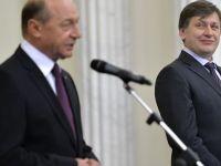Antonescu: Poate Basescu era mai bun de prim-ministru, in loc sa fie doua mandate presedinte