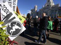 Mii de persoane au manifestat la Madrid impotriva politicilor de austeritate