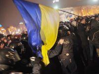 Proteste la Kiev. Ucrainienii manifesteaza pentru UE