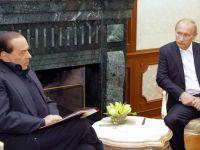Kremlinul dezminte zvonurile potrivit carora Putin l-ar ajuta pe Berlusconi sa fuga de justitia italiana