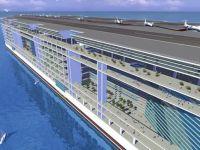 Cel mai mare vas construit vreodata. Are 25 de etaje, scoli, parcuri si propriul aeroport. VIDEO