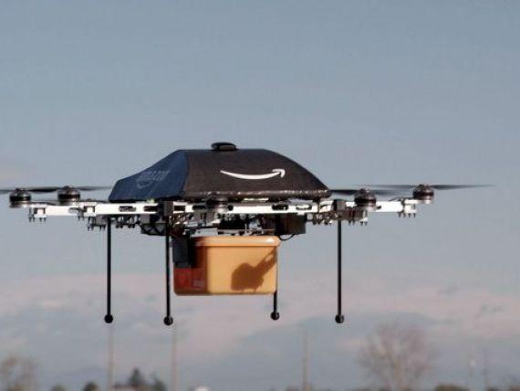Amazon vrea sa livreze produse cu ajutorul dronelor. Autoritatile americane contesta proiectul