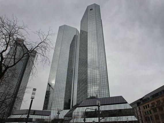 Amenda record pentru cea mai mare banca din Germania. Deutsche Bank ar putea plati peste 1,5 mld. dolari, pentru manipularea dobanzii Libor