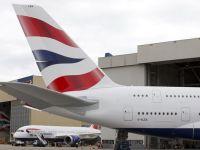 Haos in Marea Britanie. Traficul aerian, perturbat. Avioanele sunt la sol