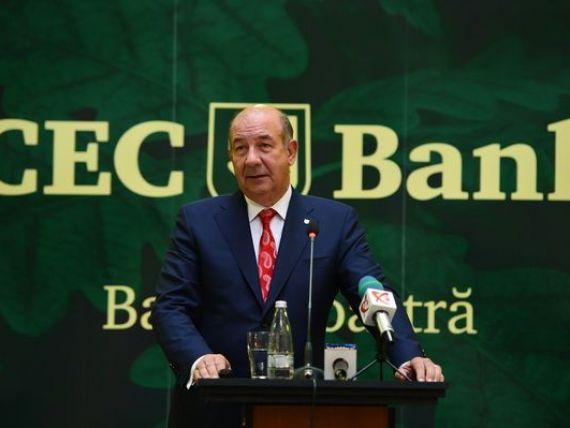 CEC Bank a incheiat anul trecut cu un profit brut de circa 65 milioane lei, aproape dublu fata de 2012