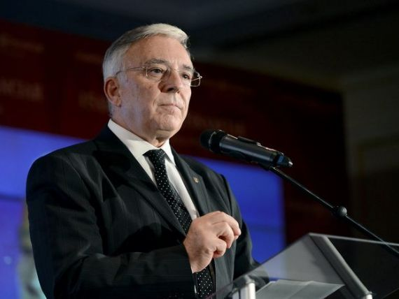 Isarescu: Agentia de rating care nu ne recomanda investitorilor vrea sa vada anul electoral. A avut odata incredere in Romania, acum sufla si in iaurt