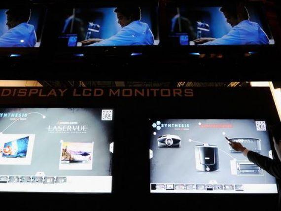 Cum arata mall-urile viitorului: vitrine digitale cu touchscreen